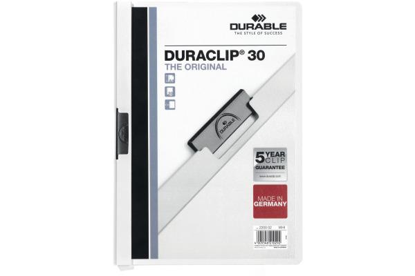 DURABLE Klemmhefter DURACLIP 30 2200/02 für 30...
