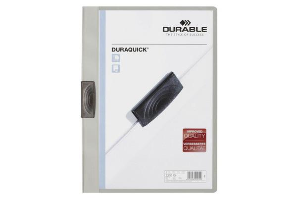 DURABLE Klemmhefter DURAQUICK A4 227010 grau