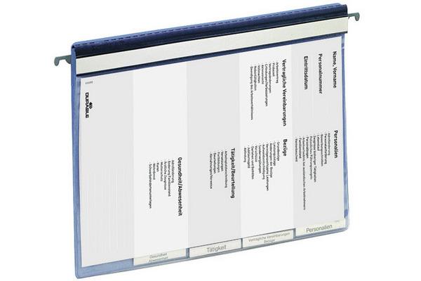 DURABLE Personalhefter A4 2555/06 blau, 4-teilig