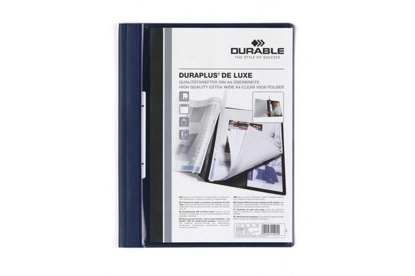 DURABLE Angebotsheft. DURAPLUS DE LUXE 2589/07 für 200 Blatt A4 dunkelblau