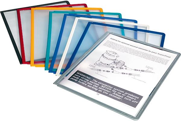 DURABLE Sichttafel SHERPA A4 560600 farbig assortiert