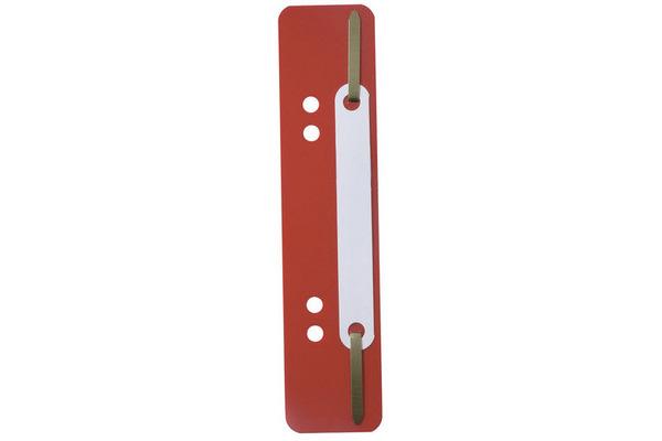DURABLE Heftstreifen Flexi 150x34mm 6901-03 rot, Lochung 60/80mm 250 Stück