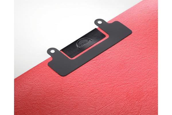 DURABLE Heftstreifen schwarz 809801 selbstklebend, 80mm, 10 St.