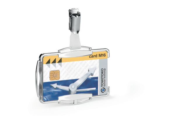 DURABLE Kartenhalter Rfid Secure Mono 890123 10 Stück