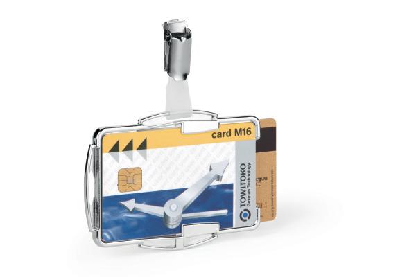 DURABLE Kartenhalter Rfid Secure Duo 890223 10 Stück