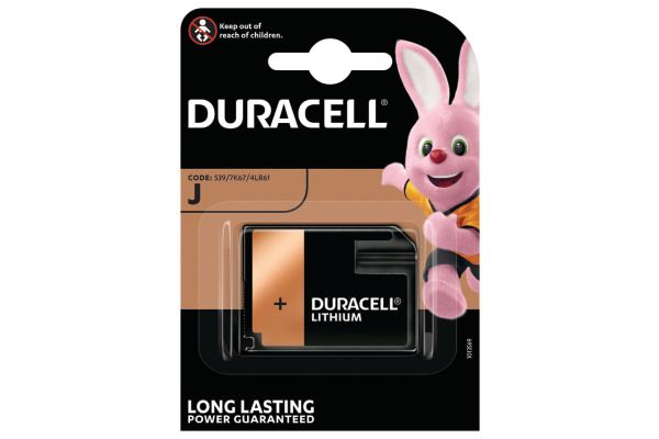 DURACELL Photobatterie Security 7K67 J, 4LR61, 6V