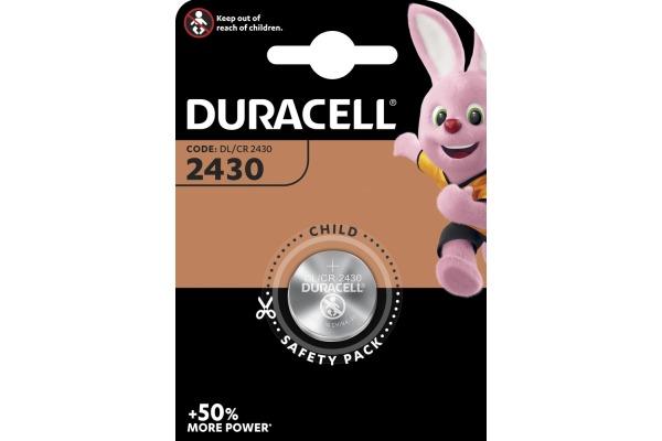 DURACELL Knopfbatterie Specialty DL2430 CR2430, 3V
