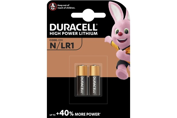 DURACELL Batterie Security MN9100 N, LR1, 1.5V 2...