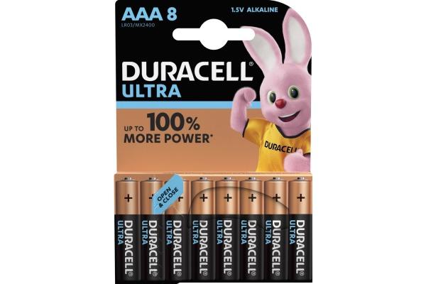 DURACELL Batterie Plus Power MX2400 AAA, LR03, 1.5V 8...