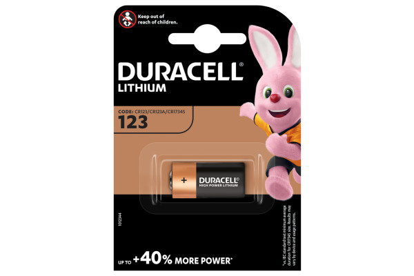 DURACELL Photobatterie Specialty Ultra ULTRA 123 DL123A, EL123A, CR123A, 3V
