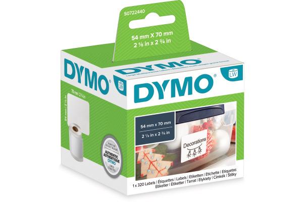 DYMO Disketten-Etiketten S0722440 permit70x54mm 300 Stück