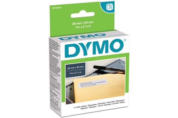 DYMO Rücksendeadressetiketten S0722520 permanent...