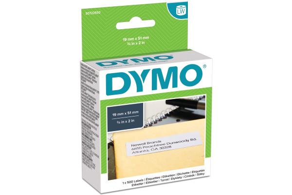DYMO Universal-Etiketten S0722550 non-permit 51x19mm