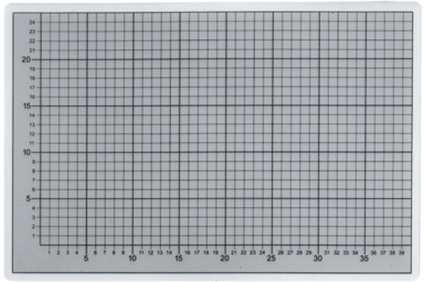 ECOBRA Schneidematte 724530 transparent 45x30cm
