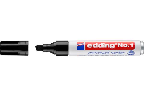 EDDING Permanent Marker Nummer 1 1-5mm 1-1 schwarz