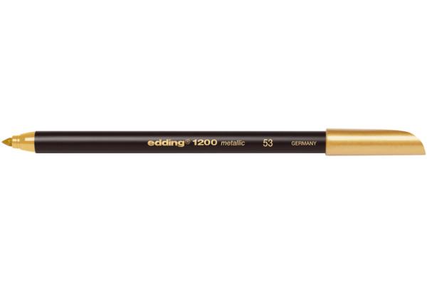 EDDING Metallic Color Pen 1200 1-3mm 1200-53 gold