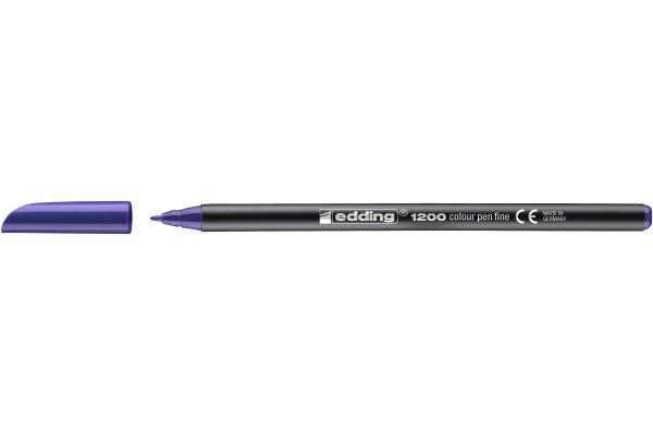 EDDING Faserschreiber 1200 0,5-1mm 1200-8 violett