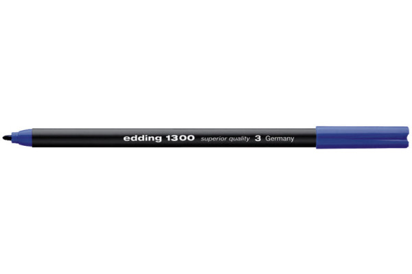 EDDING Fasermaler 1300 color pen 2mm 1300-3 blau
