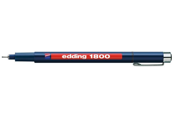 EDDING Profipen 1800 0.50mm 1800-1-05 schwarz