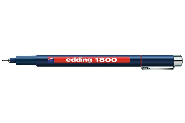 EDDING Profipen 1800 0.50mm 1800-2-05 rot