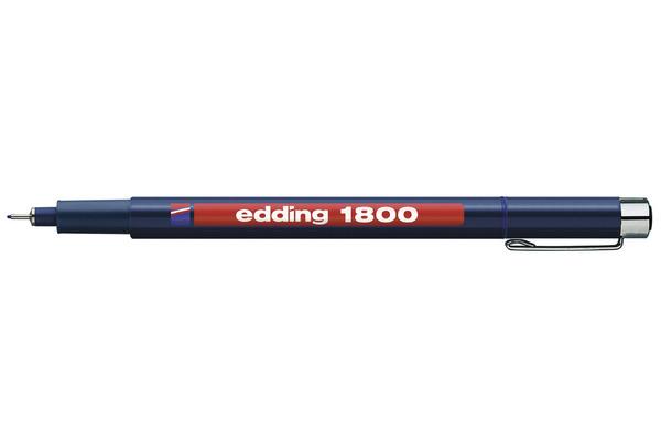 EDDING Profipen 1800 0.10-0.25mm 1800-3-01 blau