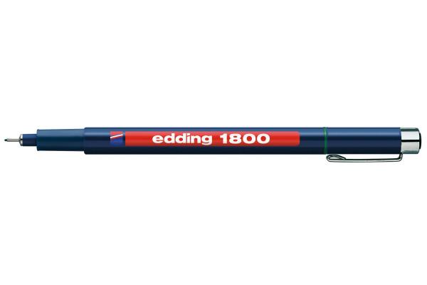 EDDING Profipen 1800 0.50mm 1800-4-05 grün