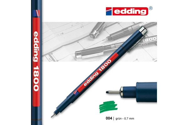 EDDING Profipen 1800 0.70mm 1800-4-07 grün
