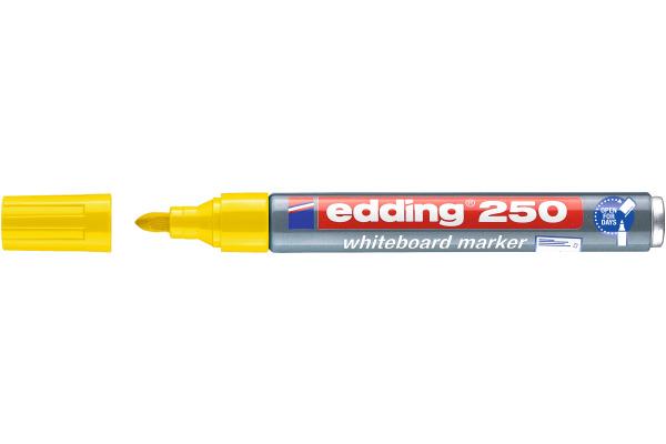 EDDING Whiteboard Marker 250 1,5-3mm 250-5 gelb