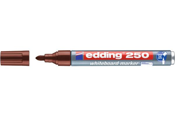 EDDING Whiteboard Marker 250 1,5-3mm 250-7 braun