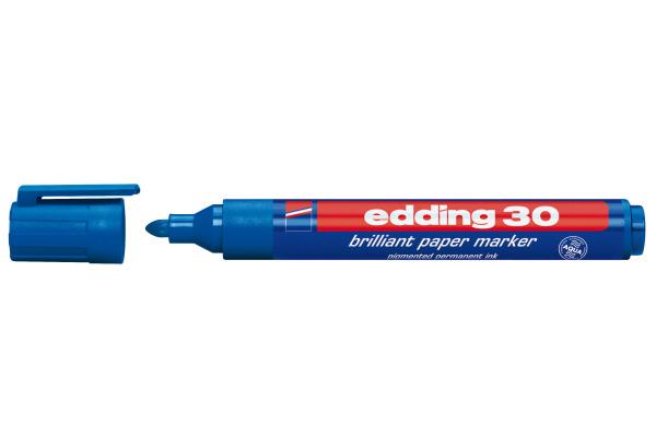 EDDING Permanent Marker 30 30-3 blau