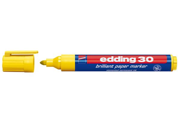 EDDING Permanent Marker 30 1,5-3mm 30-5 gelb