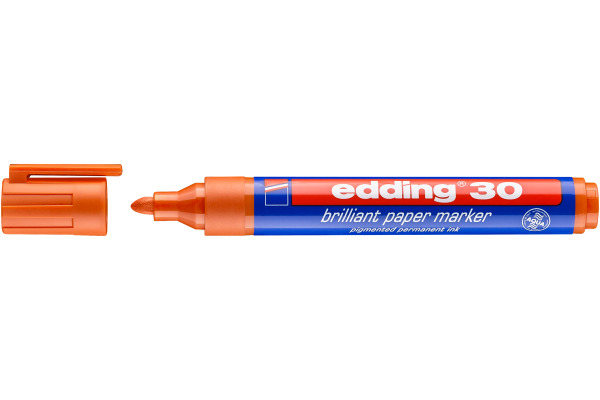 EDDING Permanent Marker 30 1,5-3mm 30-6 orange