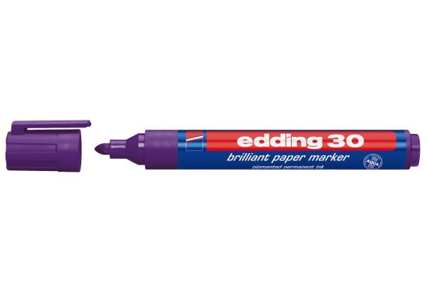 EDDING Permanent Marker 30 1,5-3mm 30-8 violett