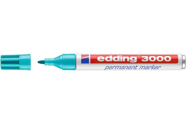 EDDING Permanent Marker 3000 1,5-3mm 3000-14 türkis