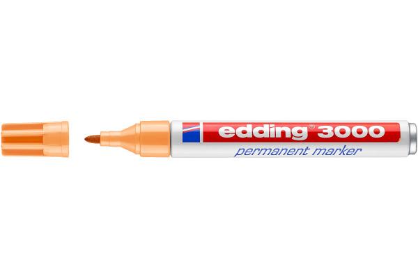 EDDING Permanent Marker 3000 1,5-3mm 3000-16 hellorange