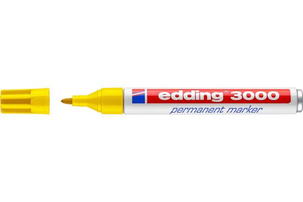 EDDING Permanent Marker 3000 1,5-3mm 3000-5 gelb