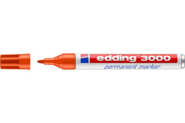 EDDING Permanent Marker 3000 1,5-3mm 3000-6 orange