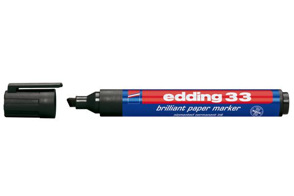 EDDING Permanent Marker 33 33-1 schwarz