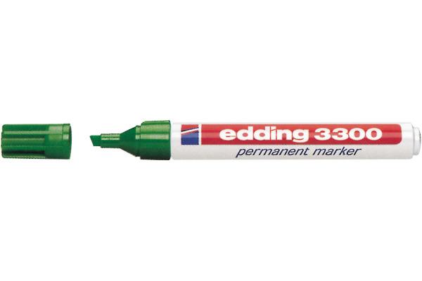 EDDING Permanent Marker 3300 1-5mm 3300-4 grün