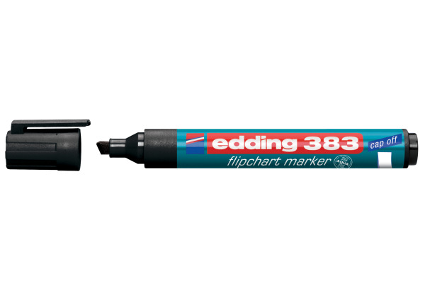 EDDING Flipchart Marker 383 1-5mm 383-1 schwarz
