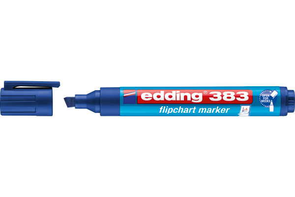 EDDING Flipchart Marker 383 1-5mm 383-3 blau