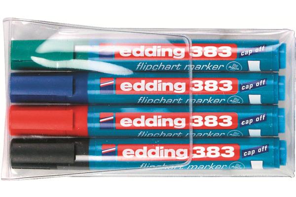 EDDING Flipchart Marker 383 383-E4 4er Etui