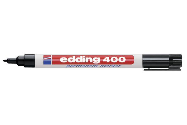 EDDING Permanent Marker 400 -1mm 400-1 schwarz