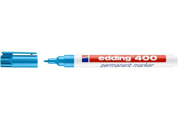 EDDING Permanent Marker 400 1mm 400-10 hellblau