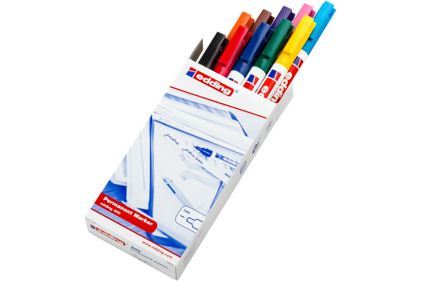 EDDING Permanent Marker 400 400-99 10 Farben