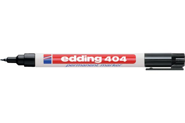 EDDING Permanent Marker 404 404-1 schwarz
