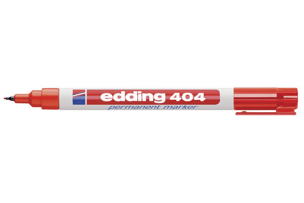 EDDING Permanent Marker 404 404-2 rot