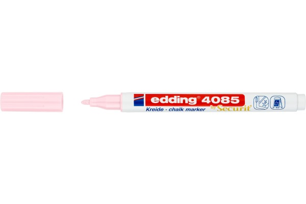 EDDING Chalk Marker 4085 1-2mm 4085-138 pastellrosa