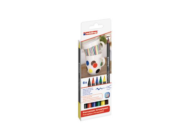 EDDING Porzellanmarker 4200 1-4mm 4200-E6-Fam 6 Family...