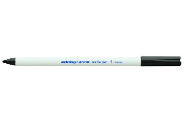 EDDING T-Shirt-Pen 4600 1mm 4600-1 schwarz